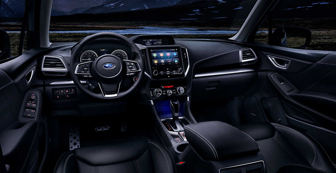 All-New 2019 Subaru Forester Interior Features and Seating Options