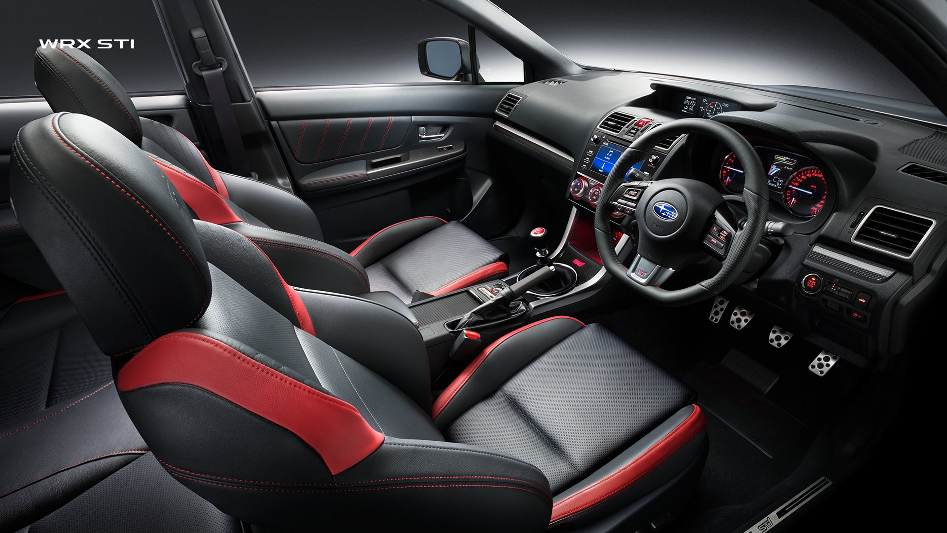 Subaru Interior Features 2017 Subaru Wrx Sti Interior Features