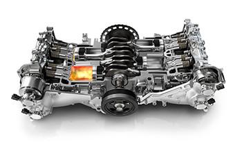 Engine Boxer Turbo Turbocharged Flat 4