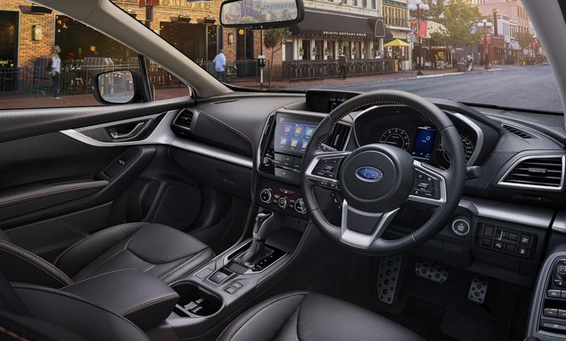 2018 subaru xv engine specifications colours dimensions - Subaru crosstrek interior lighting ...